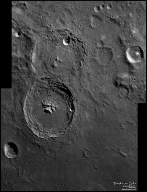 Theophilus and Cyrillus - 2 frame mosaic