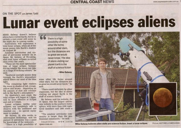 Express Advocate Article before the Event