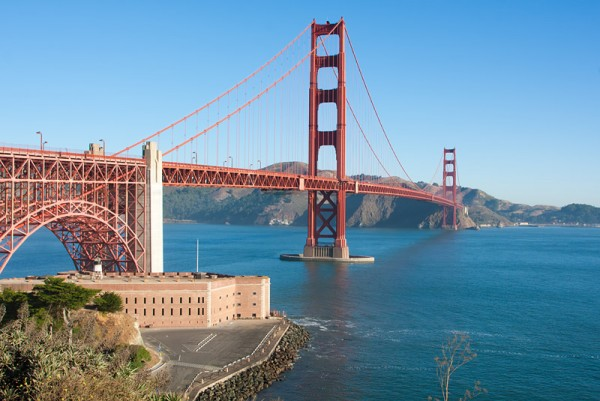Golden Gate Bridge and the Fort