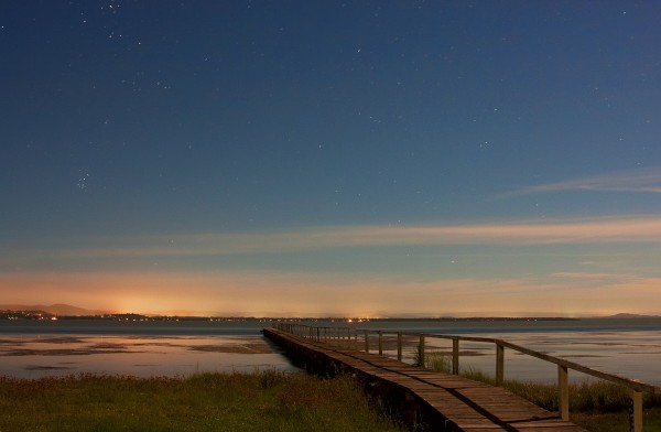 Long Jetty under Moonlight