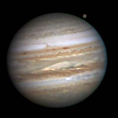 jupiter and its moons with white back - photo #2