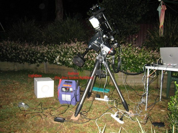 Deep Space Imaging Setup