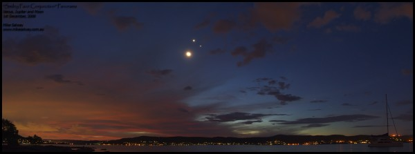 Smiley Face Conjunction Panorama