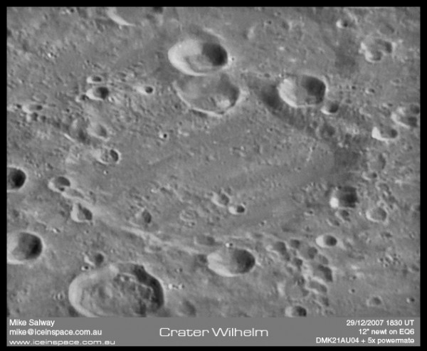Wilhelm Crater