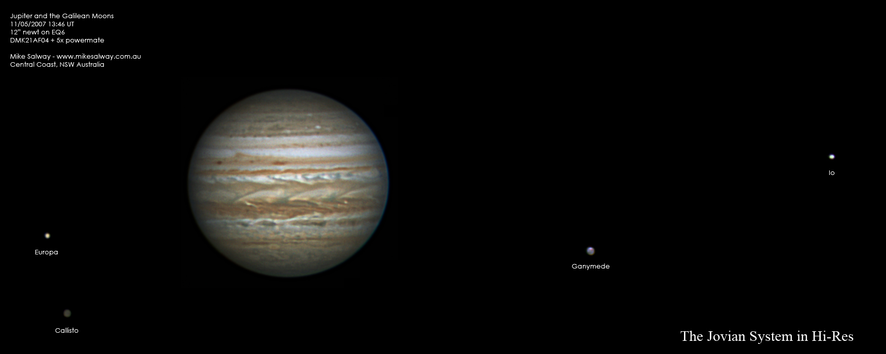 jupiter and its galilean moons Nasa's juno spacecraft captured a unique time-lapse movie of the galilean satellites in motion about jupiter the movie begins on june 12th with juno 10 mill.