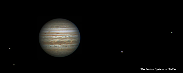 Jupiter and the Galilean Moons (click for full size)