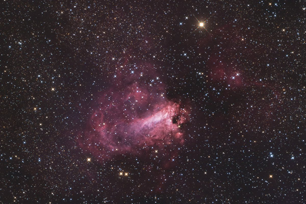 The Swan Nebula (M17) - by Gary Hill