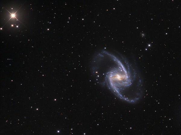 Fornax Galaxy (NGC1365) - by Jason Jennings