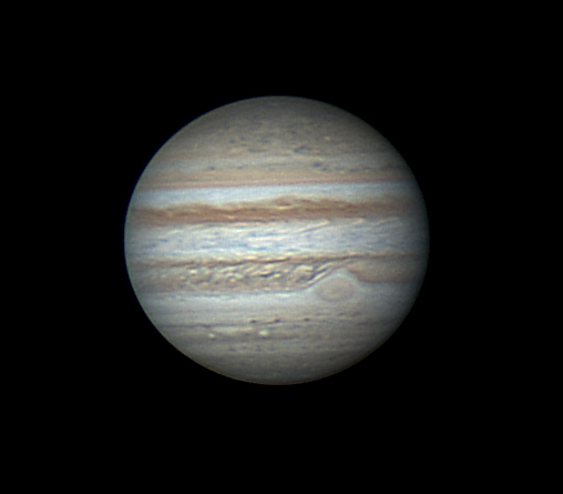 Jupiter with GRS by Lester Barnes