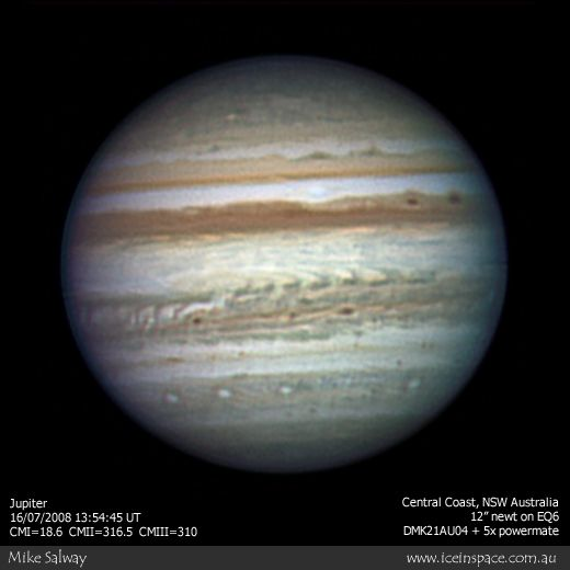 Jupiter, around the time of the 2008 opposition