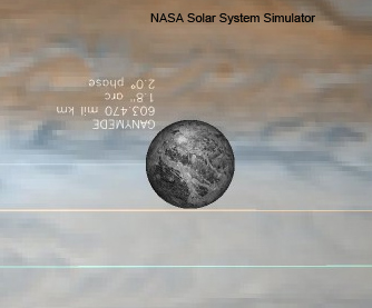 Ganymede Simulation (NASA/JPL)
