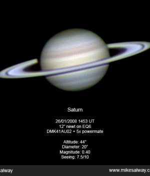Saturn with the DMK41AF02