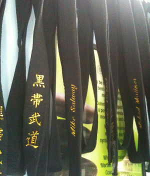 My Black Belt Awaits