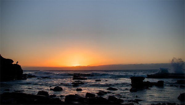 Sunrise at Terrigal