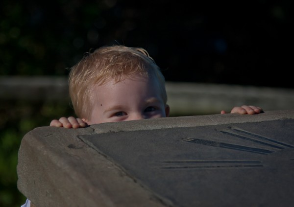 Will playing hide and seek