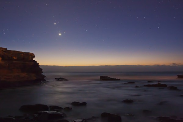 Pre-Dawn Planet Conjunction
