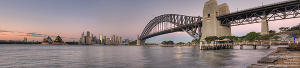 Sydney at Dawn Panorama 3