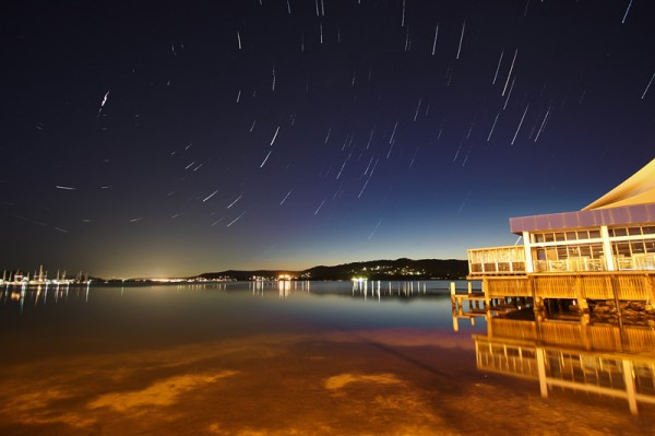 Gosford Waterfront Star Trails