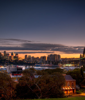 North Sydney from Observatory Hill