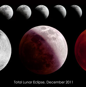 Total Lunar Eclipse, December 2011