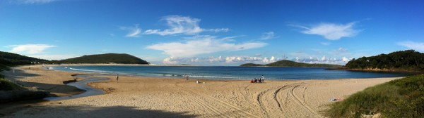 Fingal Bay Panorama