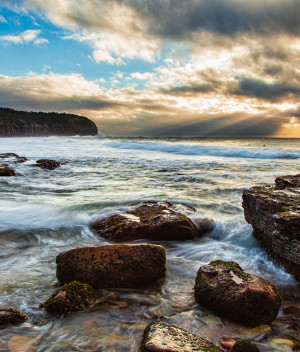 Dawn at Turimetta Beach