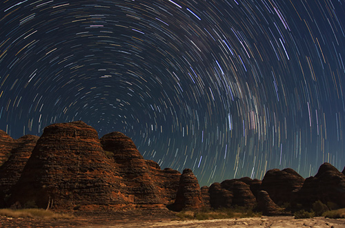 Bungle Bungles Star Trails