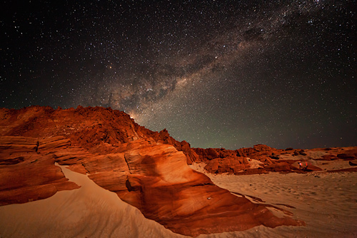 Milky Way Rising at Cape Leveque