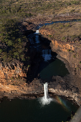 Mitchell Falls from the air