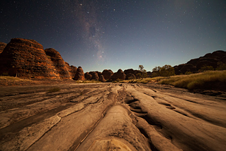 Piccanniny Creek Bed Under the Stars