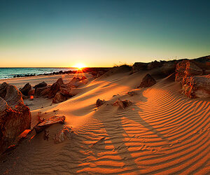 East Beach Sunrise, Cape Leveque