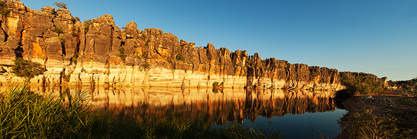 Geikie Gorge Reflections