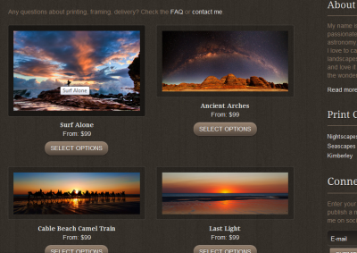 Mike Salway Photography prints for sale