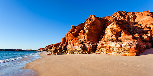 Beautiful Red Cliffs at Cape Leveque