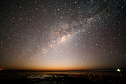 Milky Way Rising over Town Beach, Broome