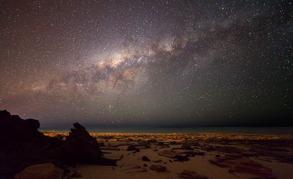 Milky Way Setting over Cable Beach