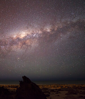 The Milky Way Setting over Cable Beach