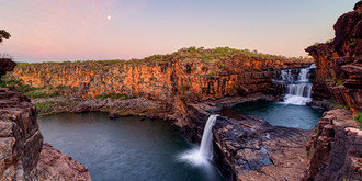 Mitchell Falls Moonrise