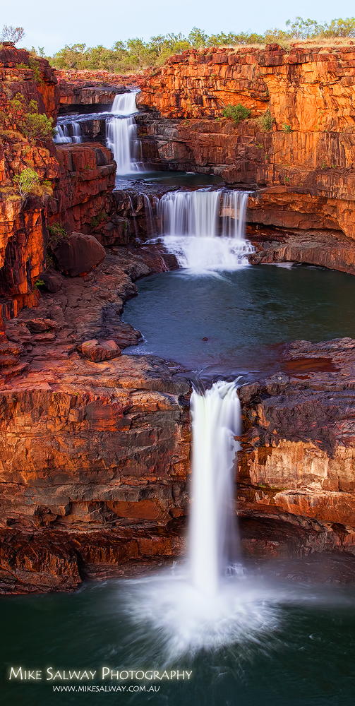 Mitchell Falls Vertical B Mike Salway