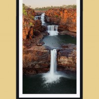 Mitchell Falls Vertical A frame mockup