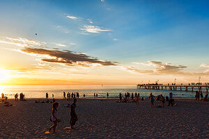 Glenelg Sunset Panorama