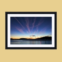 Hawkesbury River Sunrise Frame Mock