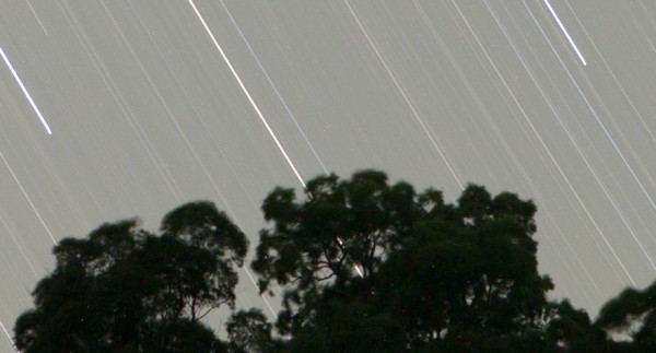 100% crop of a 30 minute exposure