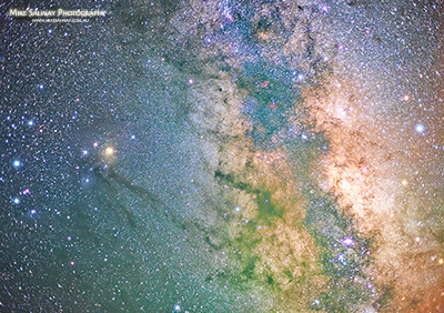 Antares and the Milky Way