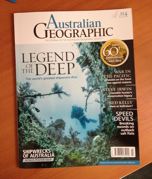 Australian Geographic Journal 114 Cover
