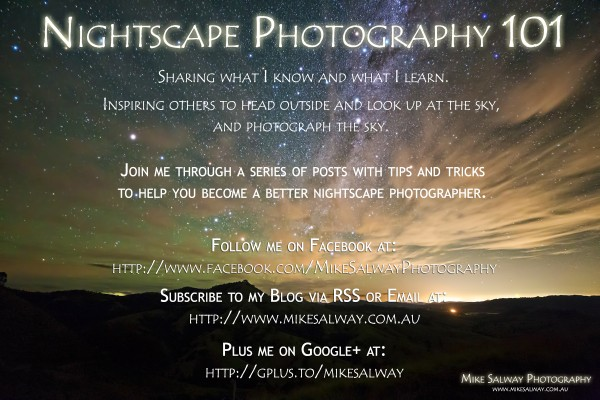 Nightscape Photography 101