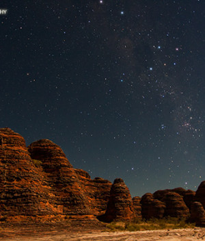 Southern Cross over the Bungle Bungles