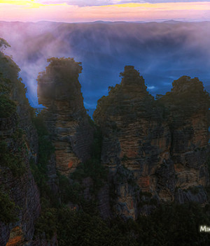 Misty Three Sisters