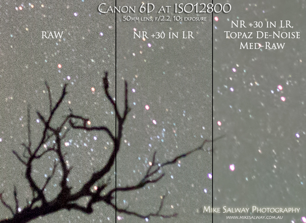 ISO12800 Comparison before and after noise reduction