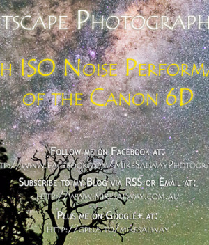 High ISO Noise Performance of the Canon 6D